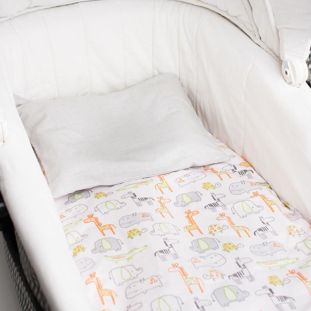 Подушка белая с полосками
