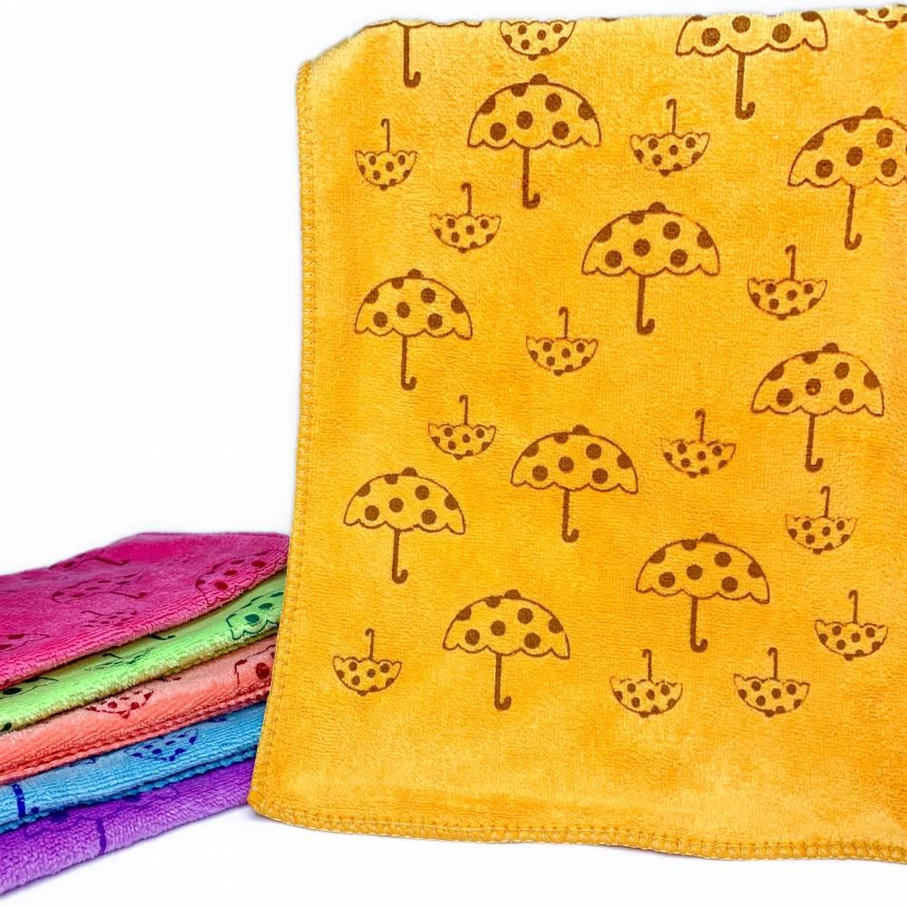 Полотенца для рук зонтики