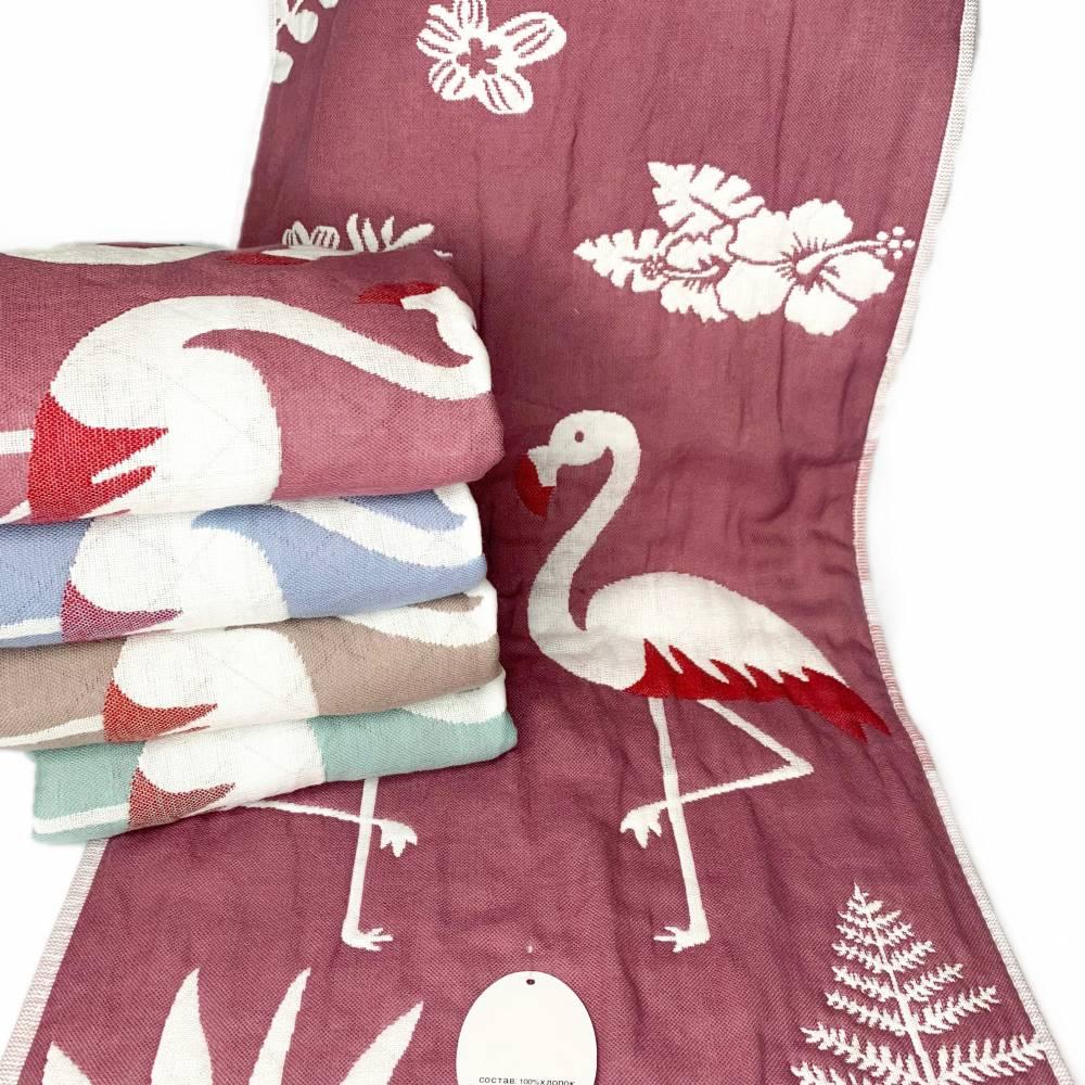Полотенца для кухни фламинго