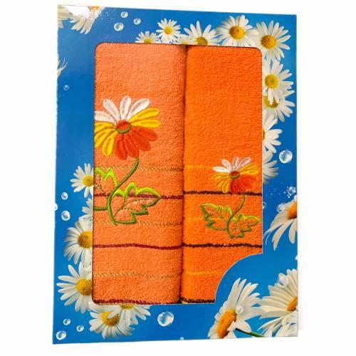 Набор полотенец (ромашка)