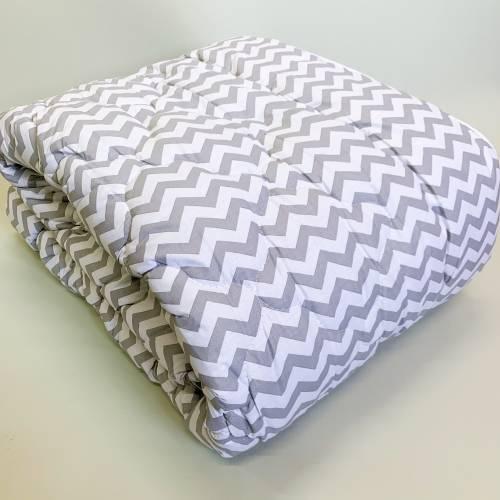 Одеяло шерсть+бязь полуторное