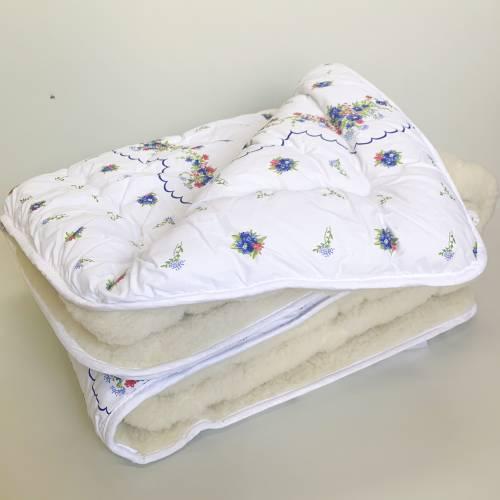 Одеяло меховое бязь двуспальное