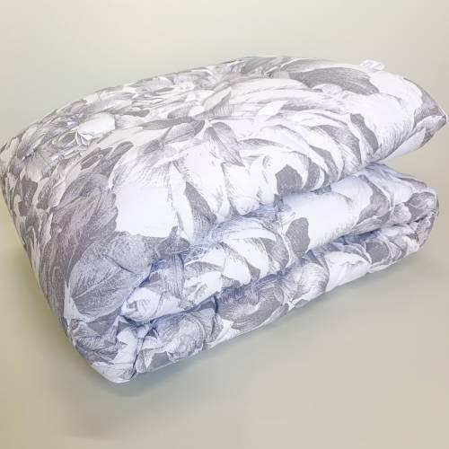 Одеяло шерсть+бязь евро