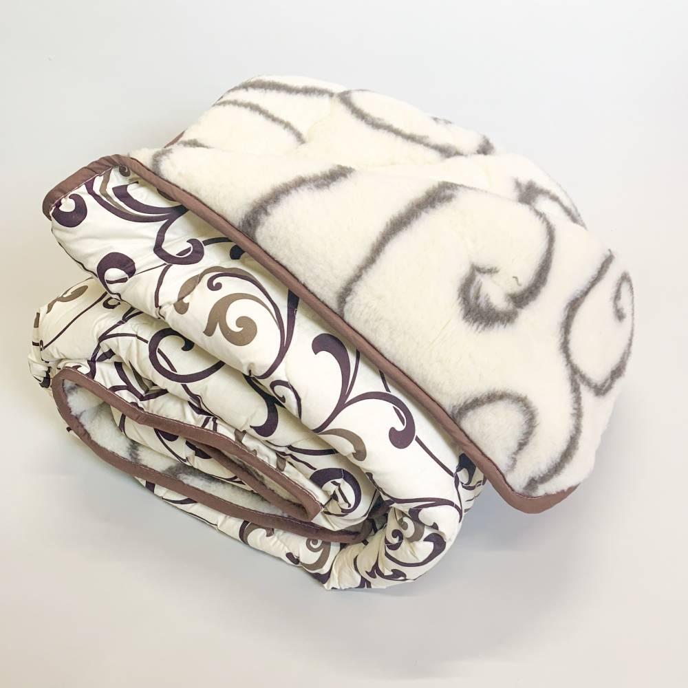 Одеяло меховое тигровое полуторное