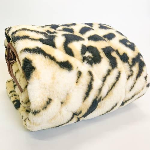 Одеяло меховое тигровое евро