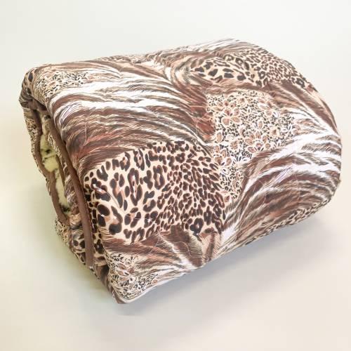 Одеяло меховое тигровое двуспальное