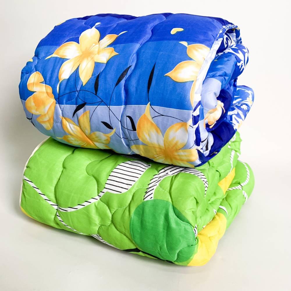 Одеяло поликоттон/силикон полуторное
