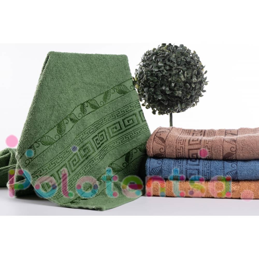 Полотенца банные версаче лист