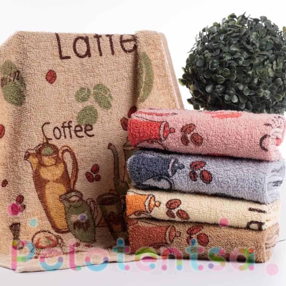 Полотенца для кухни Латте чайник