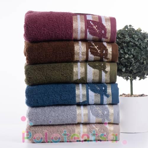 Полотенца банные Махровый лист