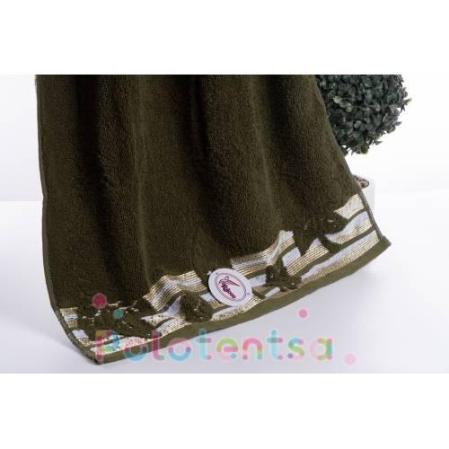 Полотенца для лица Махровый лист
