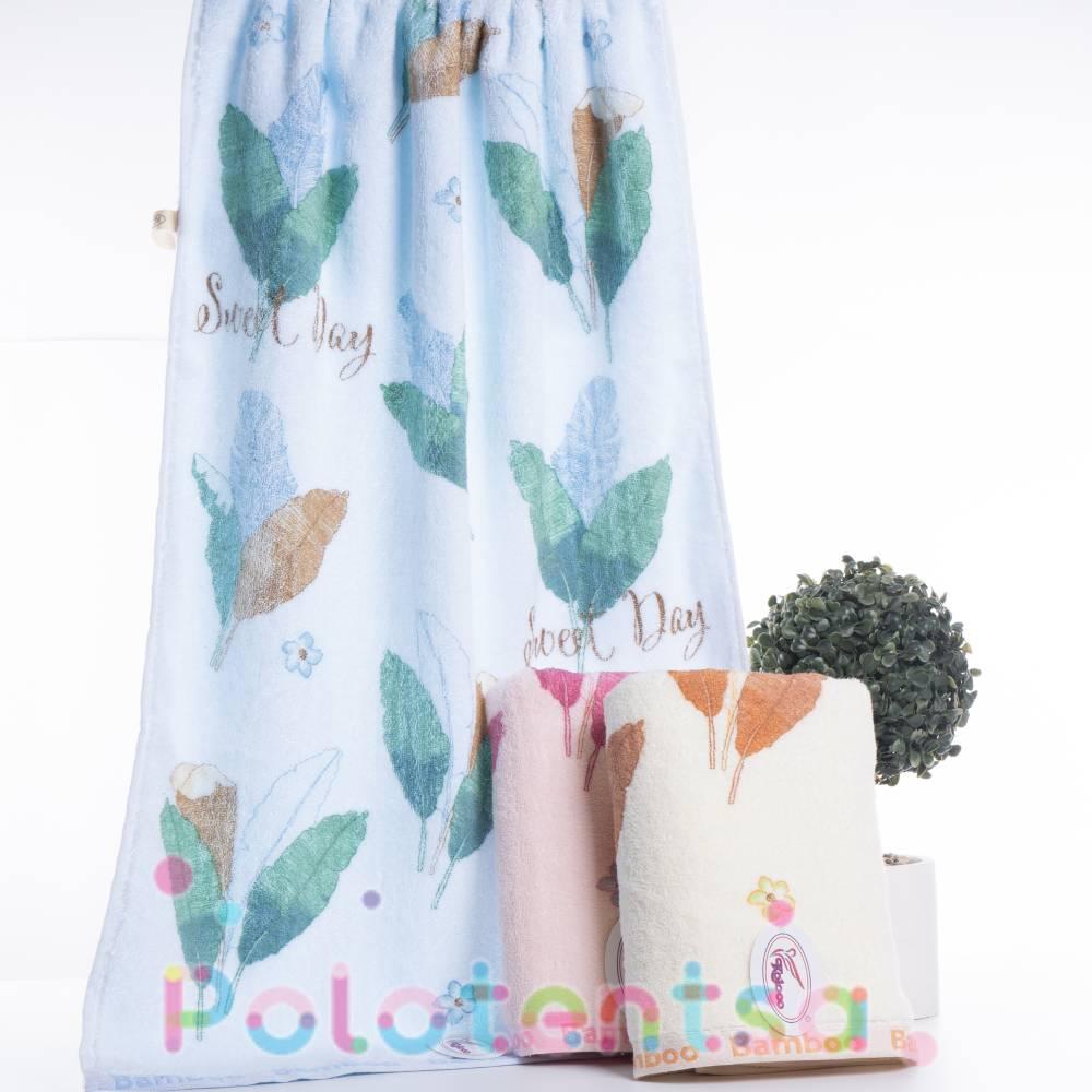 Полотенца банные Лист