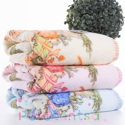 Полотенца банные Мишка bamboo