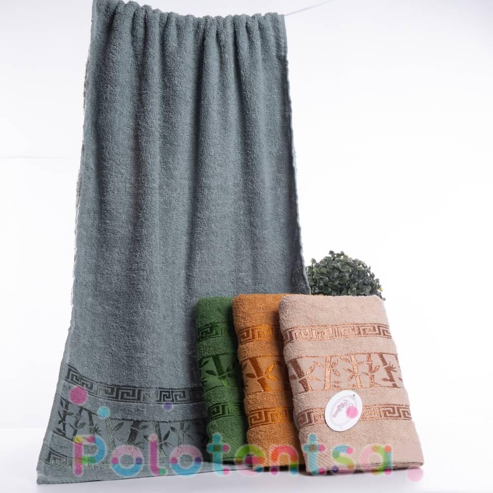 Полотенца банные Бамбук новый