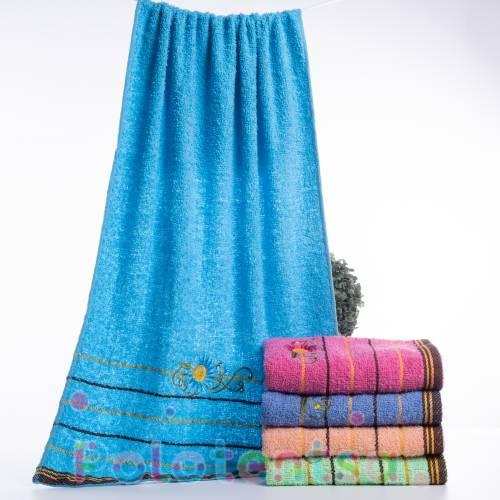 Полотенца для лица Ромашка цветная