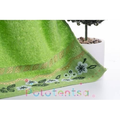 Полотенца для лица ромашка/золотой лист