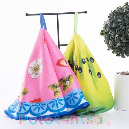 Полотенца для кухни микрофибра Круг