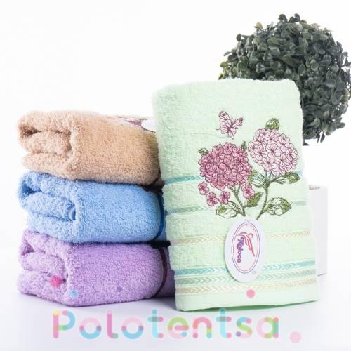 Полотенца банные Сирень