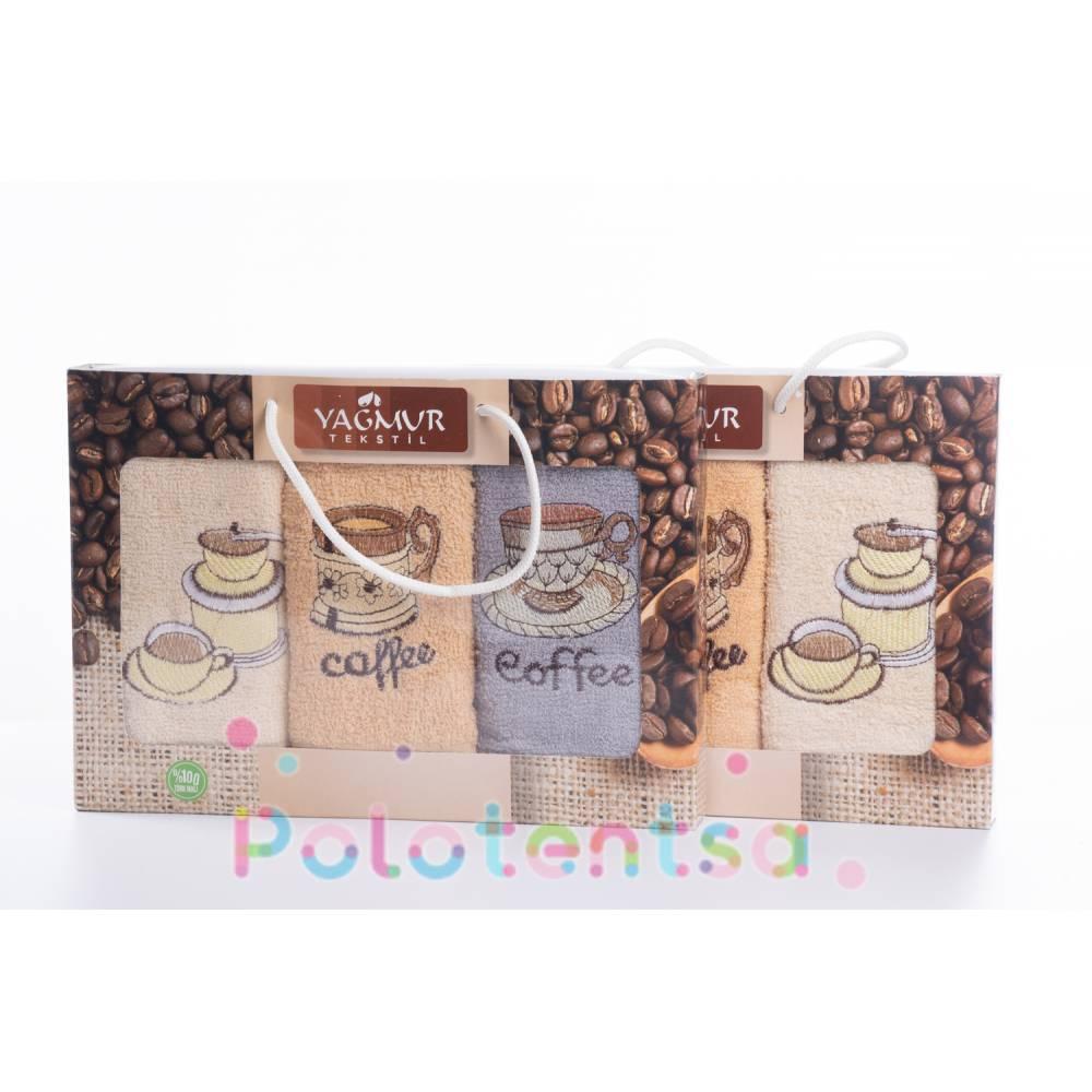 Набор полотенец Кофе махровые