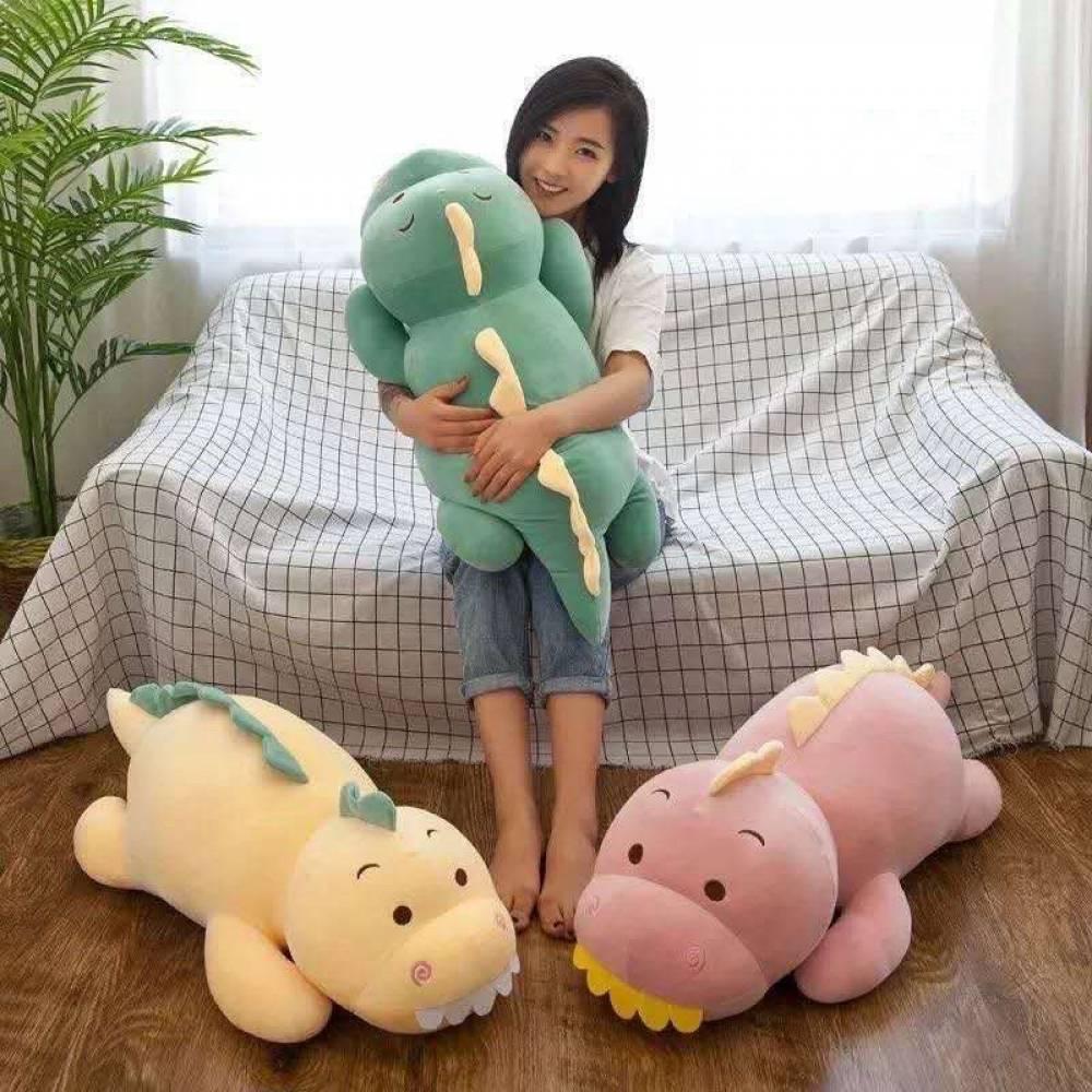 Детский плед/подушка Дино
