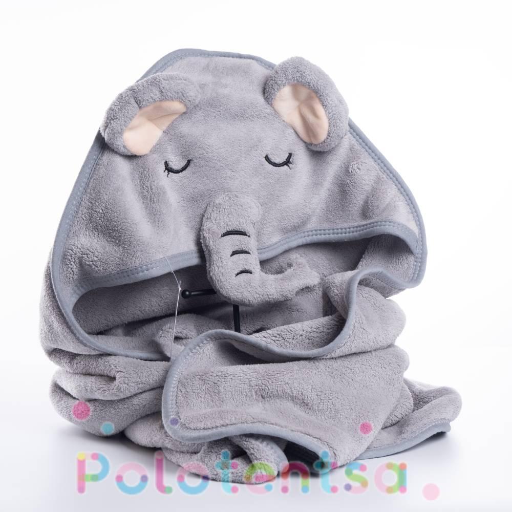 Полотенце детское с уголком Слоник