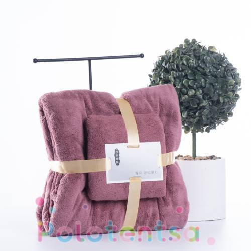 Набор полотенец микрофибра сумка