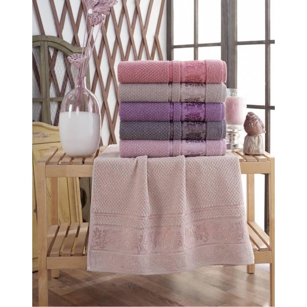 Турецкие полотенца банные Лист/вензель