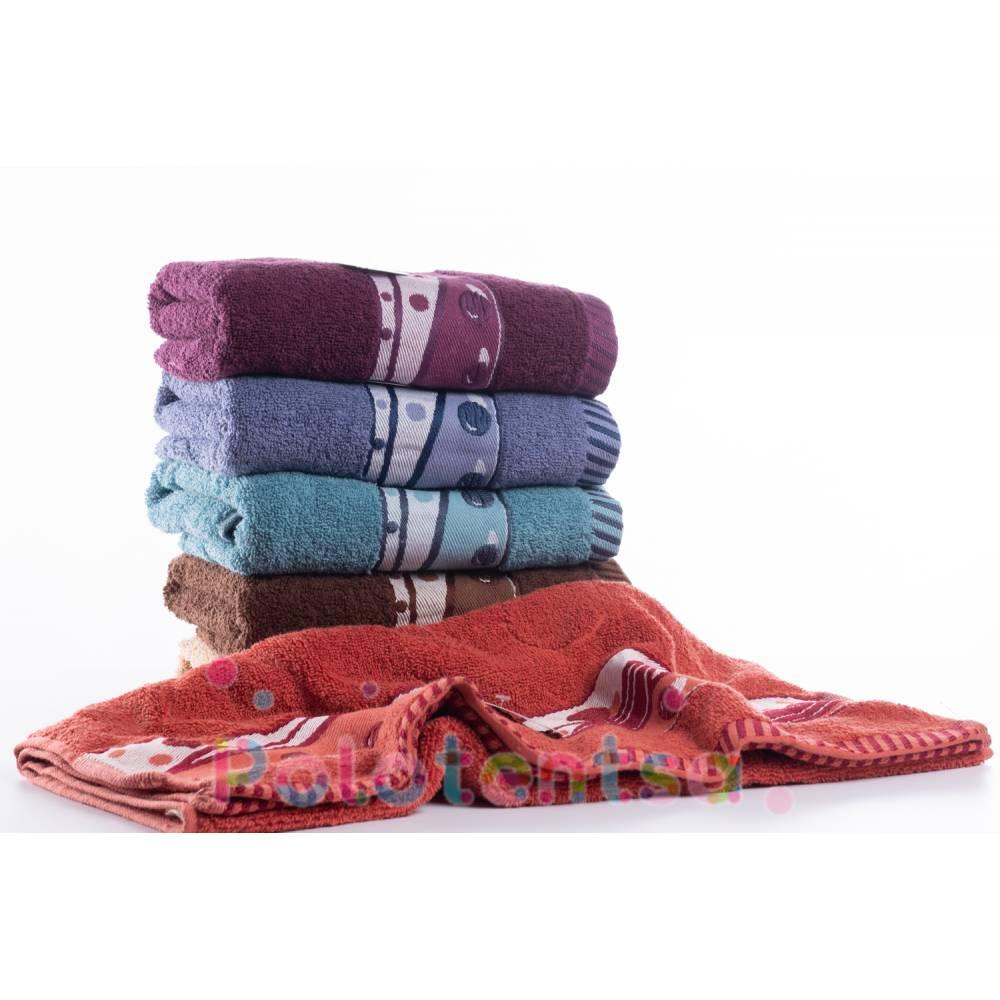 Полотенца банные Шарики