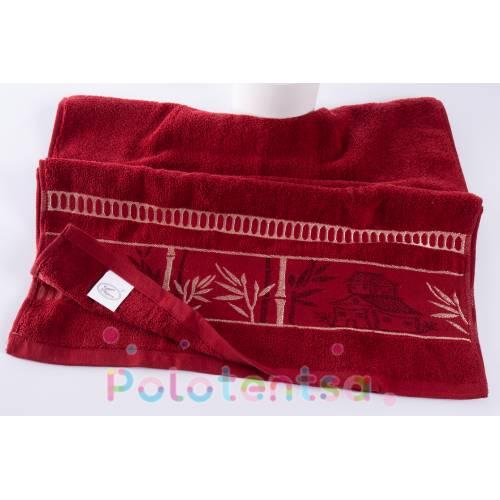 Полотенца для лица Бамбук махра