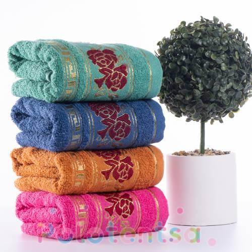 Полотенца банные Розы