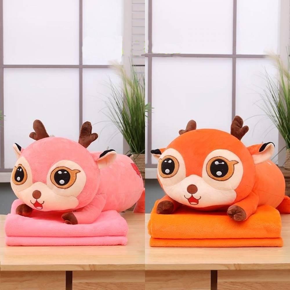 Детский плед/подушка Бэмби
