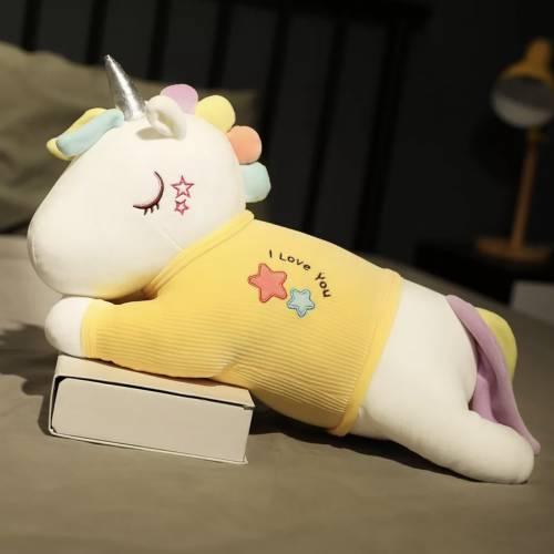 Детский плед/подушка Единорог