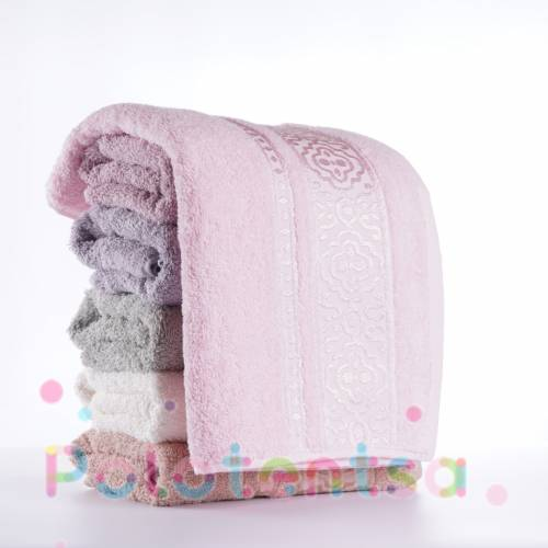 Турецкие полотенца для лица Вензель над