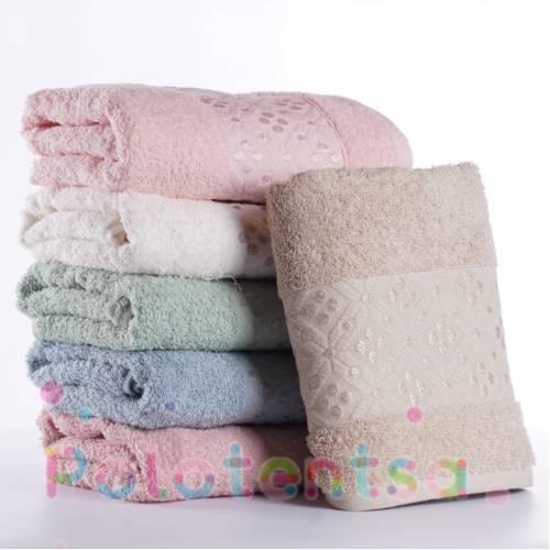Турецкие полотенца банные Горошки