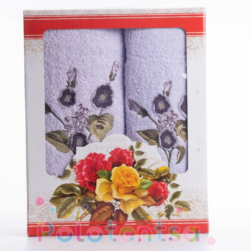 Набор полотенец Violets