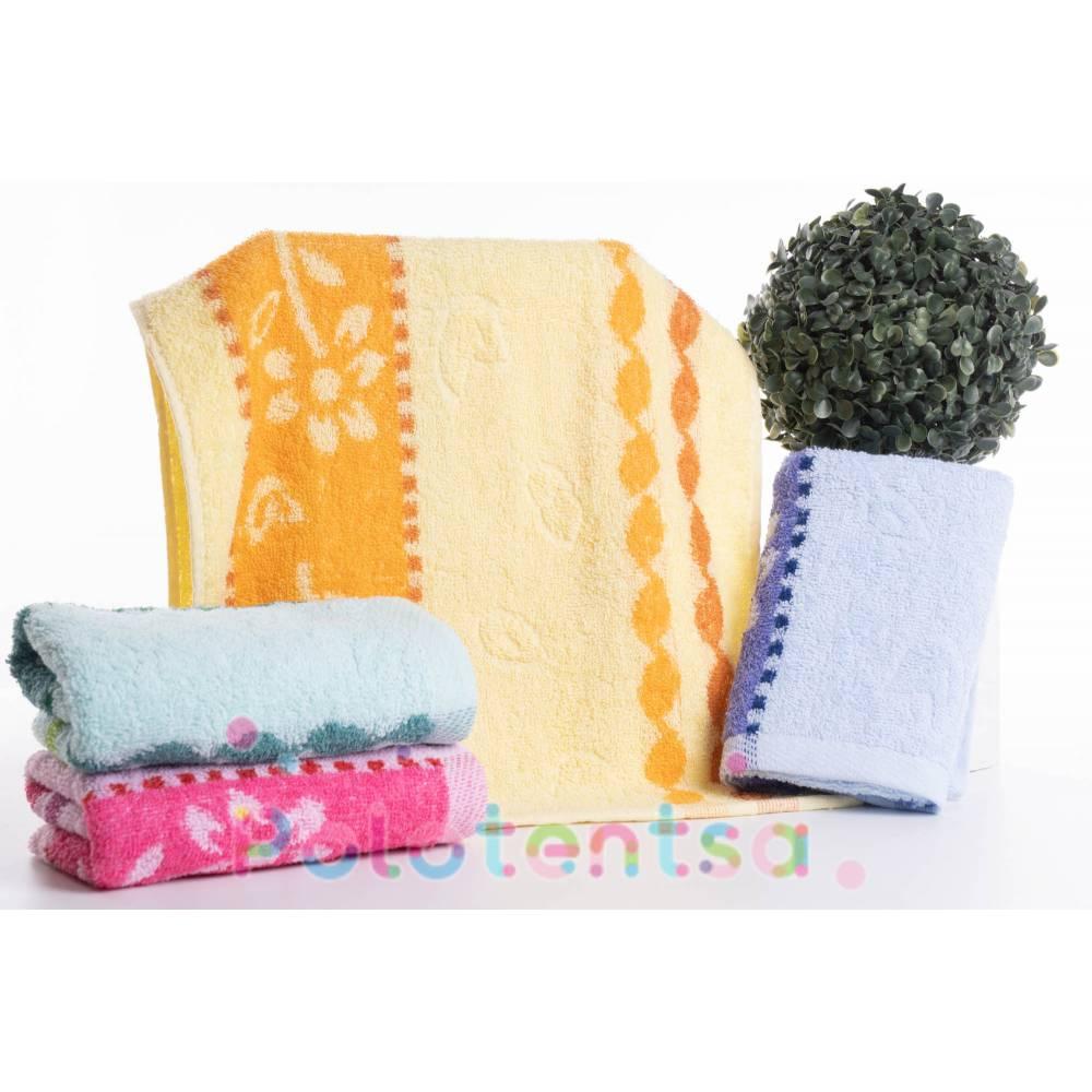 Полотенца для кухни Ромашка цветок/полоса