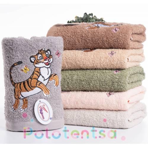 Полотенца для лица Тигр new
