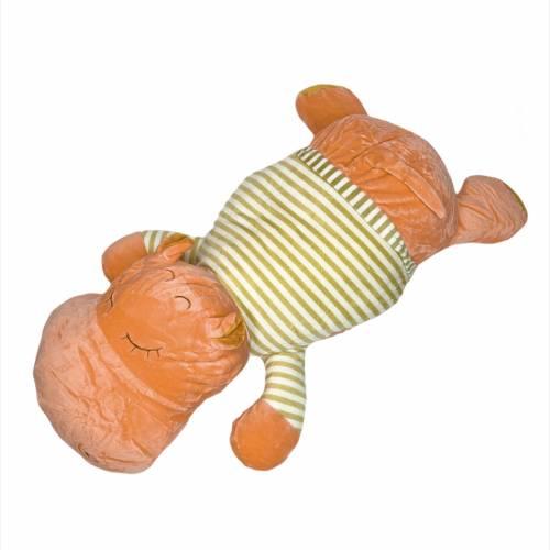 Детский плед/подушка бегемот