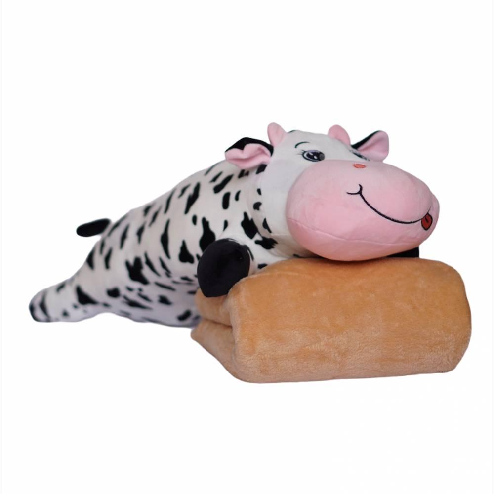 Детский плед/подушка корова 1