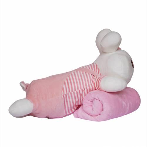 Детский плед/подушка зайчик