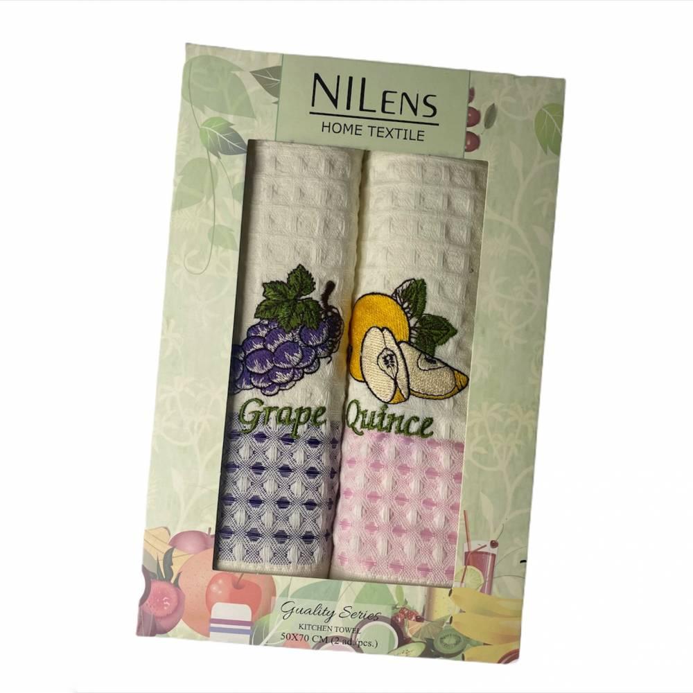 Набор турецких полотенец  Nilens