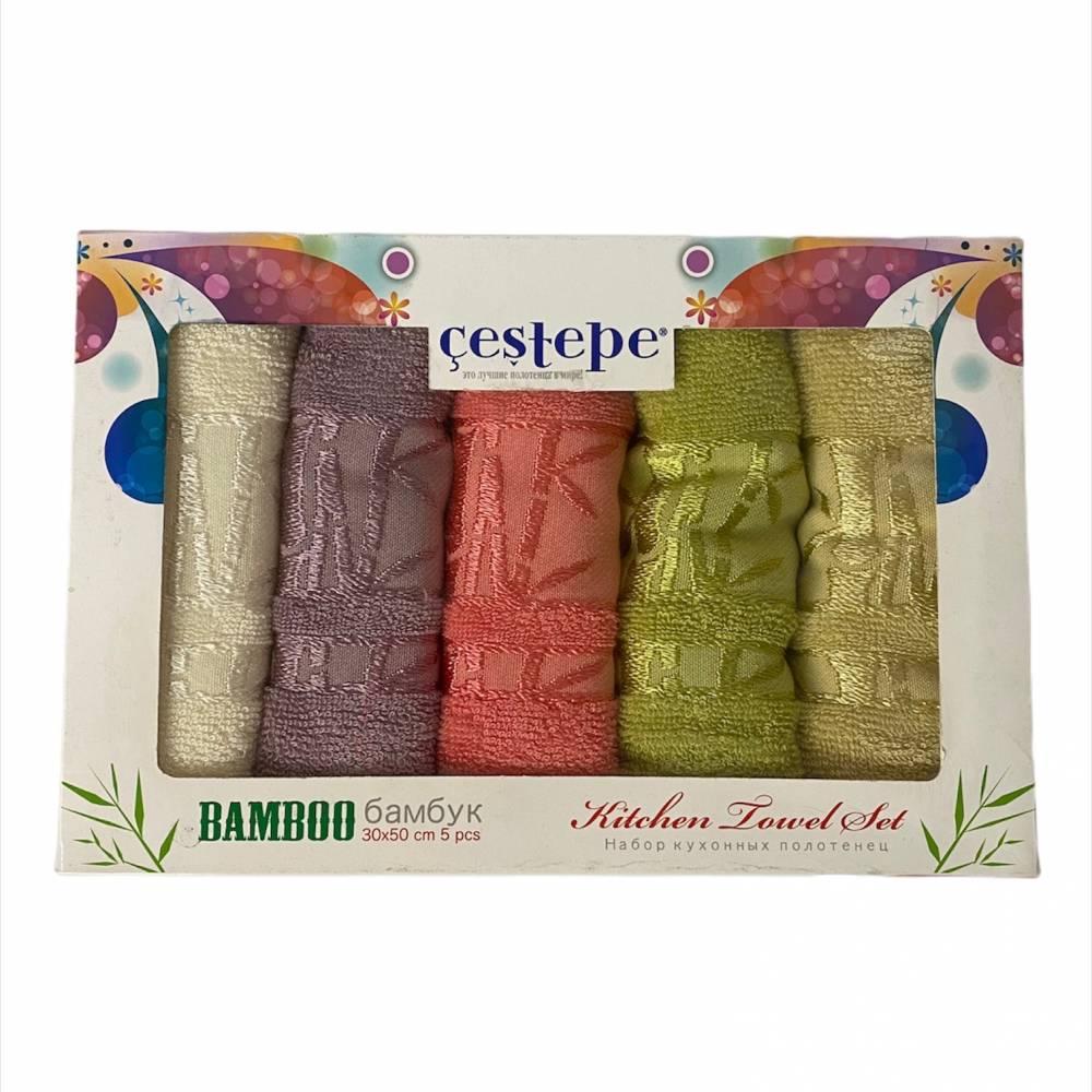 Набор турецких полотенец Cestepe bamboo 5