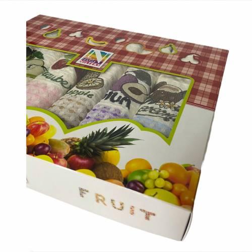 Набор турецких полотенец Nilteks Fruit