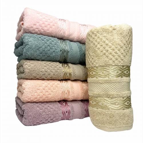 Турецкие банные полотенца Волна