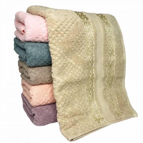 Турецкие полотенца для лица Волна