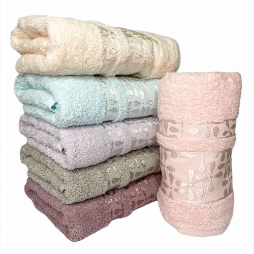 Турецкие полотенца для лица Капельки