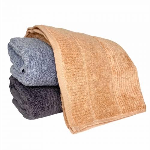 Турецкие полотенца для лица однотонные Премиум