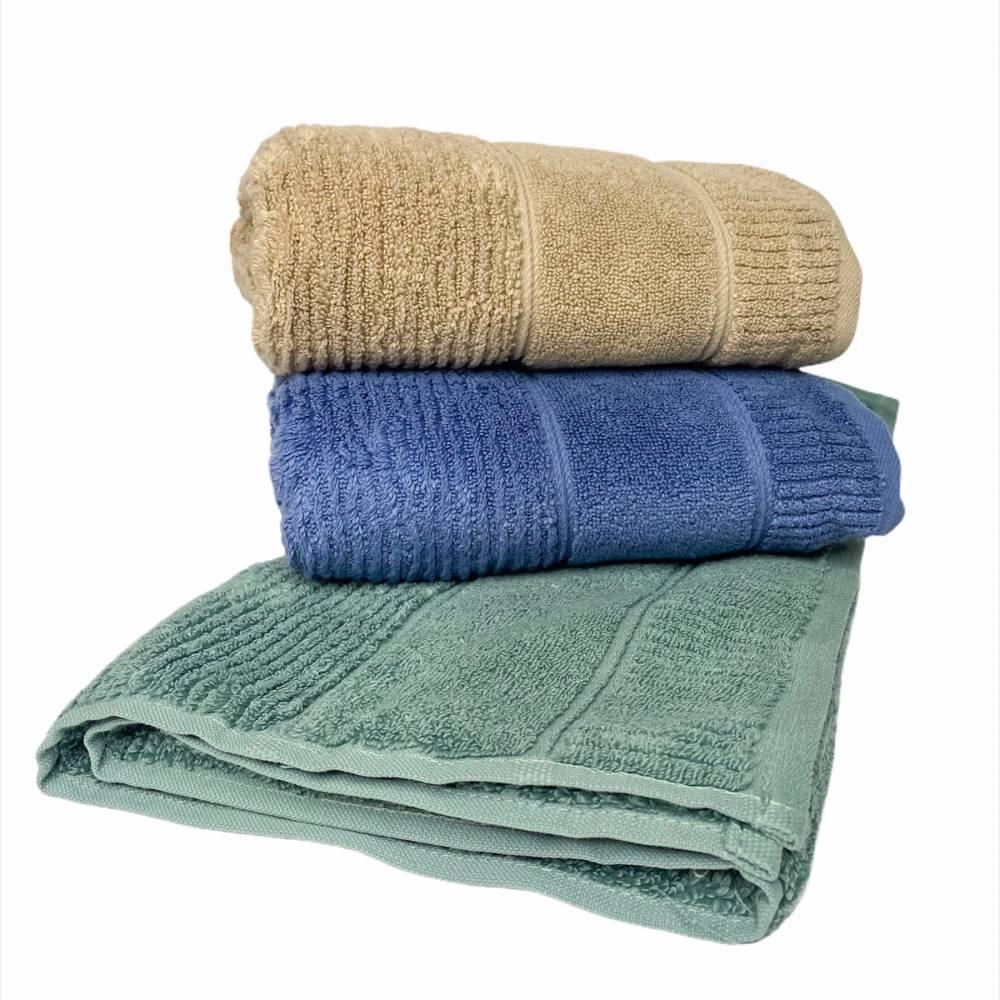 Турецкие банные полотенца однотонные Премиум №2
