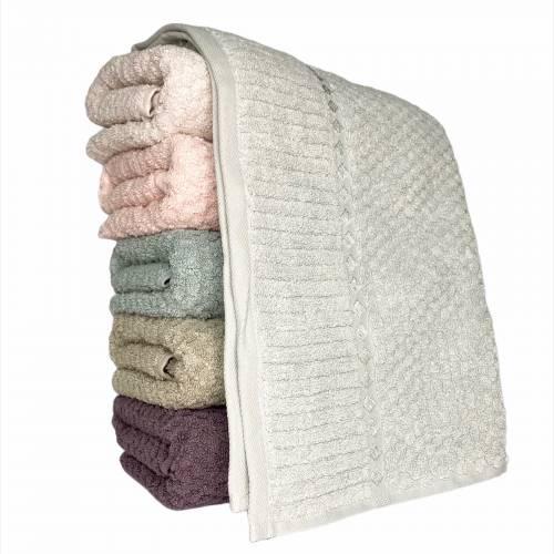 Турецкие полотенца для лица Квадратики