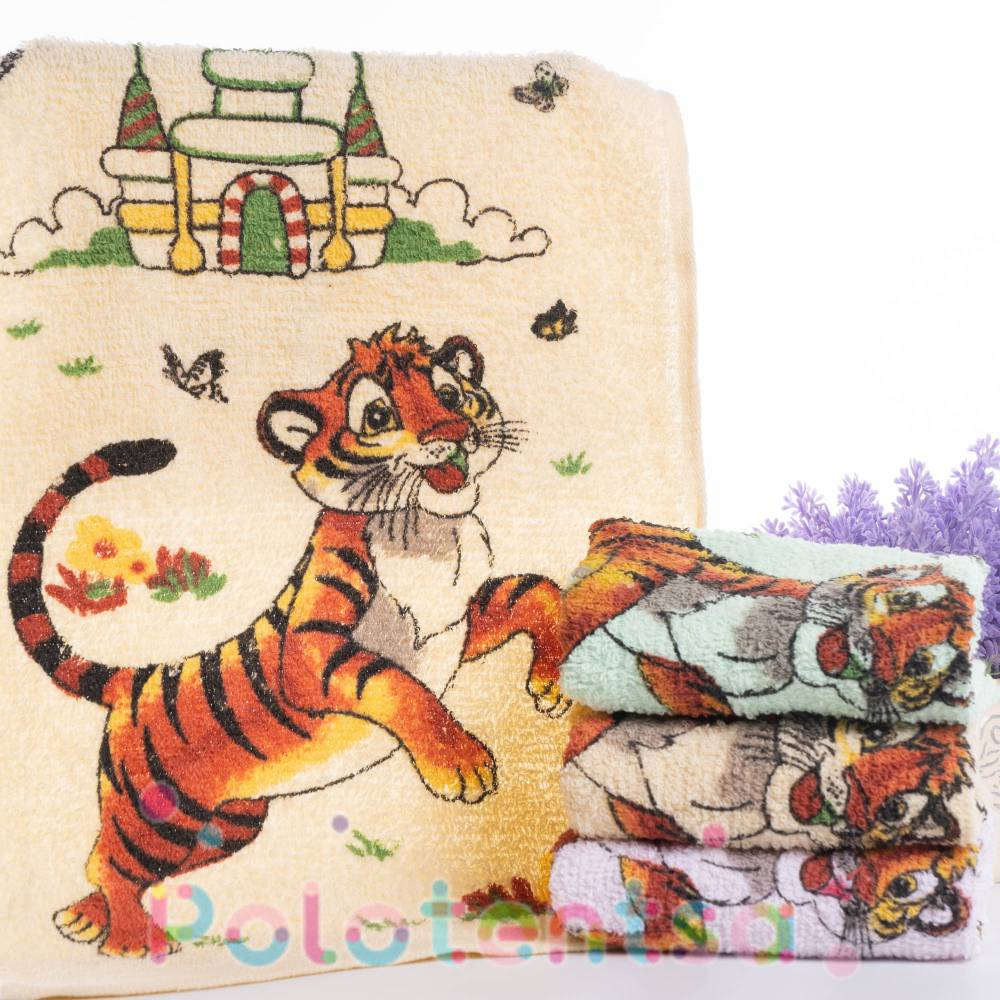 Полотенца для рук Тигр/замок